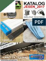Katalog Univerzalni Delovi Za Motorne Testere i Potrosi Materijal Izdanje 2017