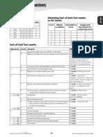 8a Test Mark Scheme