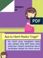 326364961 Penyuluhan Ibu Hamil Resiko Tinggi
