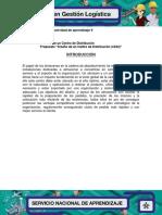 Evidencia 6 Modelo de Un Centro de Distribucion
