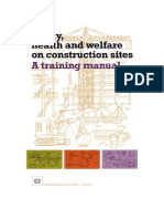 Safety Health and Welfare on Construction Sites