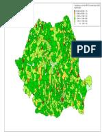 Harta Populatiei Romaniei Pe Zone