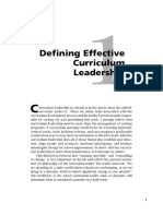 25972 Chapter 1 Defining Effective Curriculum Leadership