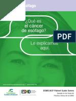 ES Cancer de Esofago Guia Para Pacientes