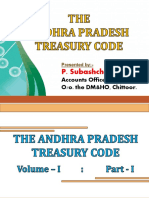 The Andhra Pradesh Treasury Code