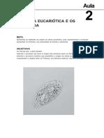 A Célula Eucariótica e Os Protozoa