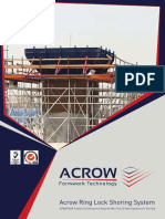 Acrow Ring Lock Shoring System