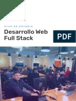 Programa Desarrollo Web Full Stack