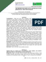 105401 ID Faktor Faktor Prediktor Mortalitas Sepsi