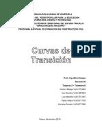 Diseño Vial - Curvas de Transición