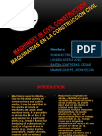 Machinery in CIVIL Construction