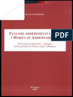 Fjalor Arbrisht Italisht / Arberesh Italiano