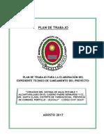 Pdt - Expediente Tecnico - Agua Potable y Alcantarillado Caserio Puerto Bernardo Santa Clara Yarinacocha - Snip 382691
