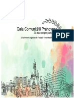 Broșură Gala Comnității Prahovene 2018