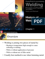 Welding History Introduction