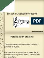 Ppt Escucha Musical Interactiva