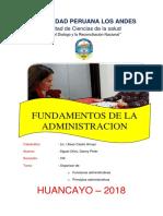 Tarea 12 - Administracion y Su Funciones