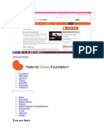 National Kidney Faoundation