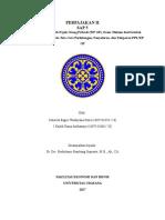 Perpajakan Sap 5 (Konsep Dasar PPh Wajib Pajak Orang Pribadi (WP OP), Dasar Hukum DanVariabel-Variabel PPh WP OP, Serta Tata Cara Perhitungan, Penyetoran, Dan Pelaporan PPh WP OP)