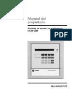Control UCM-CLD Manual Del Usuario (Español)