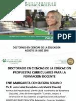 Fundamentación y Diseño Del Currículo