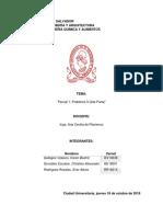 Ejercicio de análisis QAR115