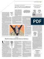 Reforma Antidemocrática
