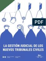 Gestión Judicial de Los Nuevos Tribunales Civiles_CEJA