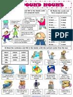 Compound Nouns First Worksheet