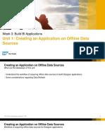 OpenSAP Lum1 Week 3 Unit 1 Apps on Offline Data Presentation