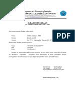 Surat Pernyataan KS