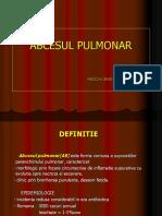 4.Abcesul Pulmonar 29
