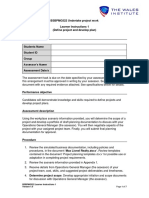 4.BSBPMG522 Assessment 1 Learner