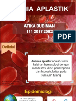 Anemia Aplastik - Atika Budiman (11120172082)
