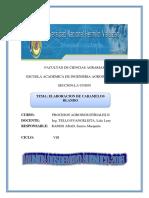 Informe de Elaboracion de Caramelo Blando