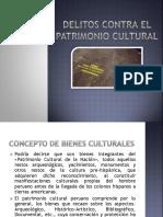 Delito Patrimonio Cultural