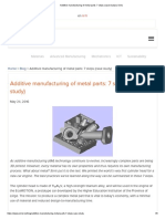 Additive manufacturing steps