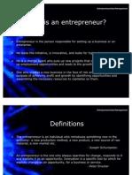 13735206 Entrepreneurship