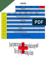 schedule.odt