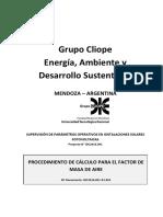 IDC2016.001!03!005_Rev00 - Procedimiento Cálculo Factor AM