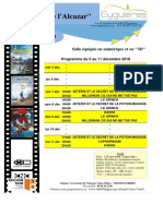 Programme Cinéma 49