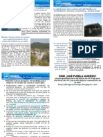 Boletín de octubre de Puebla