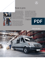 MB Sprinter Cargo Van Data Sheet