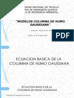 Modelo Columna de Humo