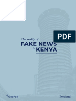 The Reality of Fake News in Kenya