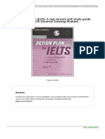 Book Action Plan for Ielts a Last Minute Self Study g 1