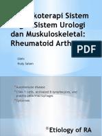 Farmakoterapi Sistem Organ-RA