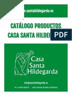 Catalogo Productos de Santa Hildegarda.