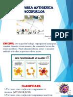 Clasificarea Antigenica a Vaccinurilor- Alina Stascu