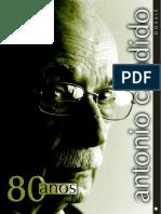 CULT 12 Dossie Sobre o Critico ANTONIO CANDIDO 80 Anos